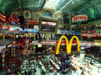 Food, Kfc, and McDonalds: TDE  COACHING  STUDMO  RESTAURANT & WINE CELLAR  CAPE TOWN  ISH MARKET  KFC McDonald's  ORDERLAND spectrometrie:this food court is insane  Wow cyberpunk 2077 looks fantastic