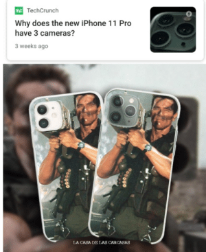 The Best Sales Pitch: TE TechCrunch  Why does the new iPhone 11 Pro  have 3 cameras?  3 weeks ago  LA CASA DE LAS CARCASAS The Best Sales Pitch