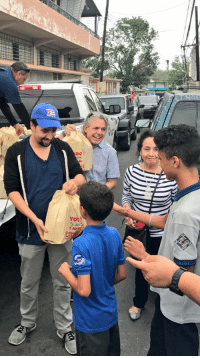 Friends, Memes, and Saw: TE  Y AH After we unveiled the new mural, we handed out hot meals in Vega Alta...I saw old friends, my grandfather's old colleagues... 🇵🇷🇵🇷🇵🇷🇵🇷🇵🇷🇵🇷🇵🇷 https://t.co/xt9yLrWPTn