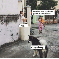 Memes, Teacher, and Good: Teacher and students  good at Chemistry  ME  Chemistry Credit: Hoang Grande