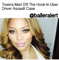 Teairra Mari Off The Hook In Uber Driver Assault Case - blogged by: @eleven8 - ⠀⠀⠀⠀⠀⠀⠀⠀⠀ ⠀⠀⠀⠀⠀⠀⠀⠀⠀ The new year is looking up for Love & Hip Hop Hollywood star TeairraMari. The singer can breathe a sigh of relief because the battery case against her has officially been dropped. ⠀⠀⠀⠀⠀⠀⠀⠀⠀ ⠀⠀⠀⠀⠀⠀⠀⠀⠀ In July 2015, an Uber driver accused Teairra Mari of atracking him and hijacking his iPhone charger all because he refused to let her use it. The driver says he was forced to pull over when Mari began punching him. In September 2015, the singer was charged with misdemeanor battery, theft and vandalism. ⠀⠀⠀⠀⠀⠀⠀⠀⠀ ⠀⠀⠀⠀⠀⠀⠀⠀⠀ In June 2016, Teairra Mari was ordered to appear in court. However, she was a no-show so a bench warrant was issued for her arrest. Mari eventually turned herself in and was released from jail after posting $26k bail. ⠀⠀⠀⠀⠀⠀⠀⠀⠀ ⠀⠀⠀⠀⠀⠀⠀⠀⠀ All three charges were dismissed against Mari today after her Uber driver refused to take the stand. Mari's lawyer says it's probably because his story wouldn't hold water. ⠀⠀⠀⠀⠀⠀⠀⠀⠀ ⠀⠀⠀⠀⠀⠀⠀⠀⠀ The good news for Teairra is that, not only is she off the hook, she gets her $26,000 bail money back.: Teairra Mari  Off The Hook In Uber  Driver Assault Case  @balleralert Teairra Mari Off The Hook In Uber Driver Assault Case - blogged by: @eleven8 - ⠀⠀⠀⠀⠀⠀⠀⠀⠀ ⠀⠀⠀⠀⠀⠀⠀⠀⠀ The new year is looking up for Love & Hip Hop Hollywood star TeairraMari. The singer can breathe a sigh of relief because the battery case against her has officially been dropped. ⠀⠀⠀⠀⠀⠀⠀⠀⠀ ⠀⠀⠀⠀⠀⠀⠀⠀⠀ In July 2015, an Uber driver accused Teairra Mari of atracking him and hijacking his iPhone charger all because he refused to let her use it. The driver says he was forced to pull over when Mari began punching him. In September 2015, the singer was charged with misdemeanor battery, theft and vandalism. ⠀⠀⠀⠀⠀⠀⠀⠀⠀ ⠀⠀⠀⠀⠀⠀⠀⠀⠀ In June 2016, Teairra Mari was ordered to appear in court. However, she was a no-show so a bench warrant was issued for her arrest. Mari eventually turned herself in and was released from jail after posting $26k bail. ⠀⠀⠀⠀⠀⠀⠀⠀⠀ ⠀⠀⠀⠀⠀⠀⠀⠀⠀ All three charges were dismissed against Mari today after her Uber driver refused to take the stand. Mari's lawyer says it's probably because his story wouldn't hold water. ⠀⠀⠀⠀⠀⠀⠀⠀⠀ ⠀⠀⠀⠀⠀⠀⠀⠀⠀ The good news for Teairra is that, not only is she off the hook, she gets her $26,000 bail money back.