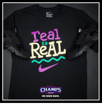 Fresh, Memes, and Nike: Teal  ReAL  CHAMPS  SPORTS  WE KNOW GAME. Fresh fits all summer by Nike. Available now.
