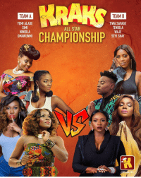 All Star, Memes, and Savage: TEAM A  TEAM B  YEMI ALADE  SIMI  NINIOLA  OMAWUNMI  TIWA SAVAGE  TENIOLA  WAJE  SEYI SHAY  ALL STAR  CHAMPIONSHIP  sTV The ladies are here 😍 which team killed 2018? 🔥 . KraksTV