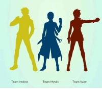 I really don't know anything about teams. Who should I choose? What do teams even do? Please help. I don't understand. DON'T START A WAR IN THE COMMENTS SAYING TEAM VALOR IS BETTER. OR TEAM MYSTIC.: Team Instinct  Team Mystic  Team Valor I really don't know anything about teams. Who should I choose? What do teams even do? Please help. I don't understand. DON'T START A WAR IN THE COMMENTS SAYING TEAM VALOR IS BETTER. OR TEAM MYSTIC.