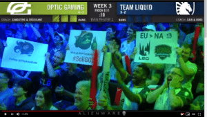 9/11, League of Legends, and Live: TEAM LIQUID  WEEK 3  OPTIC GAMING  PATCH 9.11  3-2  4-1  :10  COACH CAIN&DOOD  BAN PHASE 1  BANS  BANS  ISSANT  COACH ZABOUTINE & CROI  EU NA  What up hosn Long  LEC  #SoliGOl  FaBo TheFeelBadis  CLG  A LIEN W ARE  D LIVE Seen this today LUL