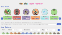 """Team planner! Link in the comments!  ~Clefairy: Team Planner  Your Team  Decidueye  Mimikyu  Exeggutor  Click the """"Copy"""" button to copy your team's URL to your clipboard and share it with your friends and neighbors!  https://richi3f.github.io/pokemon-team-planner/adecidueye+manowak-alola+mimikyu ninetales alola+exeggutor-alola marshadow  Your Options  Generation  All selected  Type All selected  Filters:  Island  All selected  Copy Team planner! Link in the comments!  ~Clefairy"""