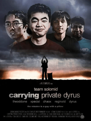 Here's an old meme for ya: team solomid  carrying private dyrus  theoddone xpecial chaox reginald dyrus  the mission is a guy with a pillow  GRONIG MOVIE POSTERS AND F IT BAYLIFE ENTERTAINMENT PRESENT A TEAM SOLOMID PRODCMACUS DYRUS HI  CARRYING PRIVATE DYRUS BRIAN THE DDDONE weLLE AL:1 XPECIAL HU SHAN [BAEX HBANG tub, REGINALDUINH AND MR PILLOW  Riste -TSM BAYLIFE ย MADBR0 501EMIO NET REAL MICROWAVE OF TRASHBAG RAINMOMMY WE Will NEVER FOR ET Here's an old meme for ya