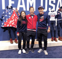 Target, Tumblr, and Twitter: TEAM  USA  USI us-ice-dance:    Mannequin Challenge: @TeamUSA Edition.  #WinterOlympics  : @RalphLauren