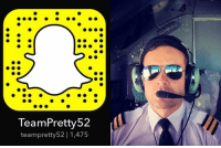Memes, 🤖, and Day: TeamPretty 52  teampretty 52 1,475 Head over to @pretty52 's Snapchat takeover today for 'A Day in the Life of a Pilot' with @seanmurray87