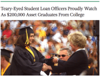 Bailey Jay, College, and Watch: Teary-Eyed Student Loan Officers Proudly Watch  As $200,000 Asset Graduates From College <p>wahahahahahah</p>