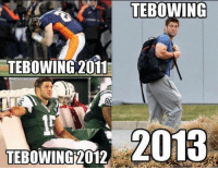 #Tebowing through the years..: TEBOWING  TEBOWING 2011  TEBOWING 2012  TEBOWING  2013 #Tebowing through the years..