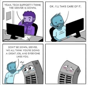 Tech support be like: Tech support be like