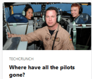 Target, Tumblr, and Blog: TECHCRUNCH  Where have all the pilots  gone? hebbez: