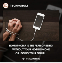 Tag your friends who has this! 😂 - fact technobolt technology tech apple iphone ipod ipad samsung s7 hp dell acer lenovo asus cool innovation inspirational microsoft windows mac osx awesome wow damn nice amazing oneplus smartphone phone: TECHNO BOLT  NOMOPHOBIA IS THE FEAR OF BEING  WITHOUT YOUR MOBILE PHONE  OR LOSING YOUR SIGNAL.  IT'S TECHNOLOGIC Tag your friends who has this! 😂 - fact technobolt technology tech apple iphone ipod ipad samsung s7 hp dell acer lenovo asus cool innovation inspirational microsoft windows mac osx awesome wow damn nice amazing oneplus smartphone phone