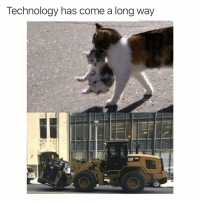 Future, Technology, and Dank Memes: Technology has come a long way  CAT We livin in the future