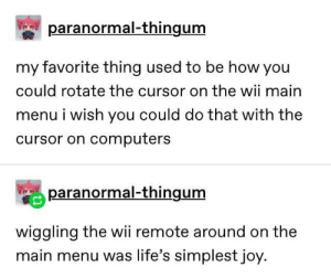 Technology peaked at the wii: Technology peaked at the wii