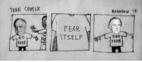 Teen Comix: TEEN COMIX  FEAR  No  FEAR  ONE  FEAR