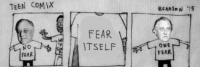Teen Comix: TEEN COMIX  NO  FEAR  FEAR  ITSELF  BRANSDN  ONE  FEAR