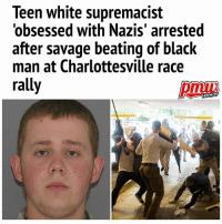 A teenage WhiteSupremacist has been arrested after allegedly being caught on camera savagely beating a young black man with sticks during a race riot. DanielBorden, 18, was charged with malicious wounding after being named as one of the multiple suspects in the hate-fuelled attack which took place during a Nazi rally in Charlottesville, Virginia on August 12. Shocking footage emerged on YouTube of white nationalists marching along a road before spotting 20-year-old victim DeandreHarris and then attacking him just inside a parking garage as he tried to flee.: Teen white supremacist  'obsessed with Nazis' arrested  after savage beating of black  man at Charlottesville race  rall A teenage WhiteSupremacist has been arrested after allegedly being caught on camera savagely beating a young black man with sticks during a race riot. DanielBorden, 18, was charged with malicious wounding after being named as one of the multiple suspects in the hate-fuelled attack which took place during a Nazi rally in Charlottesville, Virginia on August 12. Shocking footage emerged on YouTube of white nationalists marching along a road before spotting 20-year-old victim DeandreHarris and then attacking him just inside a parking garage as he tried to flee.