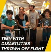 "Memes, Emirates, and Flight: TEEN WITH  DISABILITIES  THROWN OFF FLGHT ""This has been an absolutely shocking ordeal.""   This mother wants Emirates airline staff to get training after her son with epilepsy was forced off a flight."