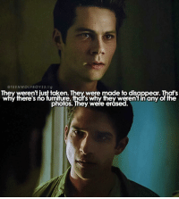 + @teenwolf please let me visit the set - so like....what are we going to do when teen wolf ends...: TEEN WOLF BOYS S/ig  They weren't iust taken. They were made to disappear. That's  why there's no furniture, that's why they weren fin any of the  photos. They were erased + @teenwolf please let me visit the set - so like....what are we going to do when teen wolf ends...
