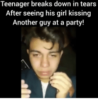 damn she broke buddy's heart! What would you do? - WATCH NOW AT PMWHIPHOP.COM LINK IN BIO @pmwhiphop @pmwhiphop @pmwhiphop @pmwhiphop @pmwhiphop @pmwhiphop: Teenager breaks down in tears  After seeing his girl kissing  Another guy at a party! damn she broke buddy's heart! What would you do? - WATCH NOW AT PMWHIPHOP.COM LINK IN BIO @pmwhiphop @pmwhiphop @pmwhiphop @pmwhiphop @pmwhiphop @pmwhiphop