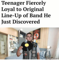 """Memes, Tammy, and Girlfriend: Teenager Fiercely  Loyal to Original  Line-Up of Band He  Just Discovered  Full Storys thehardtimes.net """"It's like I've always said: give me Bon Scott, Tommy Ramone, and while we're at it, my seventh grade girlfriend, Tammy. Nobody has been able to come close to her yet."""""""