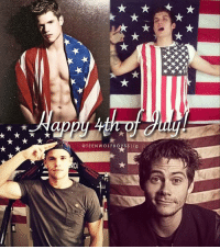 Memes, Babes, and Happy: @TEENWOLFBOYSS  ig + happy fourth of july if you celebrate it!! :) ❤️💙 - otherwise happy tuesday and enjoy these pics of these babes!!! :)
