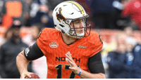 Football, Memes, and Best: teese The @wyo_football QB impressed in Mobile, AL.  @JoshAllenQB's BEST PLAYS from the 2018 @seniorbowl! https://t.co/2K1w8OkJuH