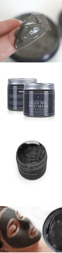 chopchipchee: Dead Sea Mud Mask  20% off code: NY2018 (works for all skin types, including dry, normal, oily, combination, sensitive, and irritated )  The Dead Seas healing power is more than just myth. The lake boasts high concentrations of magnesium, sodium, phosphates, bromides and other minerals thought to improve skin conditions as well as certain heart and lung conditions.: Teid Sa Vud Organk Green Tea, Organi  Cly, Actiated Cha coal, Organic Ve  e GNO Xanithan Gum, Organic Aloe Ver  Crgasit Jlojicbe oi, Organic Arnica oil, Phe  s: pply a thin layer of mud ma  w ipplying an face Leave mask on  Atto emove the mask gently in a  DEAD SEA  o use eare than once a week  MUD MASK  INERAL RICH & 100% NATURAL  FOR DEEP CLEANSING,EXFOLIATING& DETOKIFYING   bAul  u Mask chopchipchee: Dead Sea Mud Mask  20% off code: NY2018 (works for all skin types, including dry, normal, oily, combination, sensitive, and irritated )  The Dead Seas healing power is more than just myth. The lake boasts high concentrations of magnesium, sodium, phosphates, bromides and other minerals thought to improve skin conditions as well as certain heart and lung conditions.
