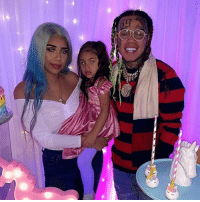 Birthday, Jail, and Life: Tekashi69 is making the most of his new lease on life, celebrating his daughter's birthday only hours after avoiding jail time in his child sex case. tmz tekashi69 @6ix9ine birthday