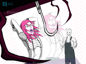 Tell me that diavolo doesn't get reincarnated in the world of the entity and is forever face camped by a trapper: Tell me that diavolo doesn't get reincarnated in the world of the entity and is forever face camped by a trapper