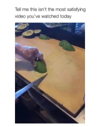 freesh avockadoo: Tell me this isn't the most satisfying  video you've watched today freesh avockadoo
