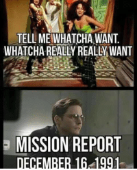 Agent Coulson: TELLMEIWHATCHA WANT  WHATCHAREALYREALLMWANT  E MISSION REPORT  DECEMBER 16 1991 Agent Coulson