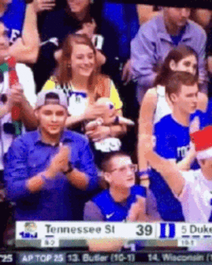 Funny, Duke, and Tennessee: Tennessee St 39 15 Duke The Mystery Headache via /r/funny https://ift.tt/2EjYINO