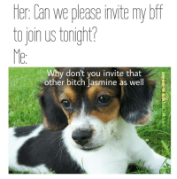 Memes, Threesome, and 🤖: ter Dan We please invite mybtf  to join us tonight?  Why don't you invite that  other bitch Jasmine as well A threesome is ok but a foursome is a party 😎 @meme.warsroast3 @meme.warsroast3 @meme.warsroast3 @meme.warsroast3