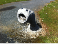 Gif, Run, and Target: terezi-pie-rope: fussyfangss:  fuzzykitty01:  p1ants:  every time I walk past my neighbour's letterbox a lil part of my soul evaporates  RUN YOU FOOL THAT IS AN ALASKAN BULL WORM     NEVER HAS HOMESTUCK BEEN SO UNEXPECTEDLY RELEVANT