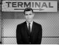 """Memes, Terminator, and Twilight: TERMINAL On This Day: """"The Twilight Zone"""" aired its very first episode in 1959."""