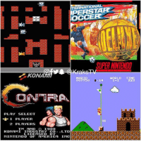 Which was your favorite?😍😍😍😁😁😁 And YES you are officially old if you remember them😂😂 . . ThrowbackThursday krakstv: TERNATIONAL  PERSTAR  OCCER  SUPER NINTENDD  KONA  MARIO  007750  14  HORLD TIME  223  PLAY SELECT  400  2 PLAYERS  TM AND  1988  KONAMI INDUSTRY CO..LTD  FI FTE「FTE  LICENSED BY  MINTENDO OF AMERICA INCECEECECECECECEEECECECEECET Which was your favorite?😍😍😍😁😁😁 And YES you are officially old if you remember them😂😂 . . ThrowbackThursday krakstv