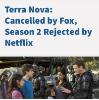 Terra Nova Cancelled By Fox Season 2 Rejected By Netflix Who Else