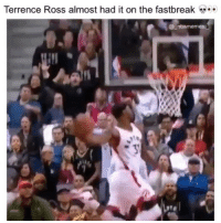 Imagine if he made that dunk 👀😂🔥 - Follow @_nbamemes._: Terrence Ross almost had it on the fastbreak  nbamemes Imagine if he made that dunk 👀😂🔥 - Follow @_nbamemes._