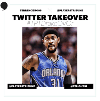 .@TFlight31 taking over the account tomorrow at 1PM EST to talk all things @Drake #Scorpion album. Join the conversation using  #TPTDrakeOVOr https://t.co/7xtAp0Lzuv: TERRENCE ROSS  @PLAYERSTRIBUNE  TWITTER TAKEOVER  #TPT DrakeOVOr  ORLAND  @PLAYERSTRIBUNE  @TFLIGHT31 .@TFlight31 taking over the account tomorrow at 1PM EST to talk all things @Drake #Scorpion album. Join the conversation using  #TPTDrakeOVOr https://t.co/7xtAp0Lzuv