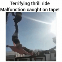 Memes, Link, and Paris: Terrifying thrill ride  Malfunction caught on tape! Woman left flying through the air dangling by her feet after carnival ride mishap in Paris - WATCH NOW AT PMWHIPHOP.COM LINK IN BIO