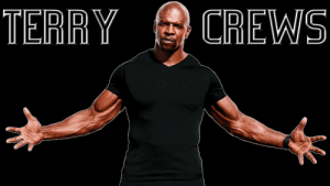 Terry Crews, President, and Man: TERRY  CREWS I made this to honour our main man. Mr. President, we salute you.