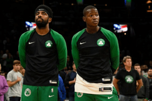 """Terry Rozier says Kyrie is a great leader but """"whatever Kyrie wants done...that's what he wants done,"""" per @GetUpESPN: Terry Rozier says Kyrie is a great leader but """"whatever Kyrie wants done...that's what he wants done,"""" per @GetUpESPN"""