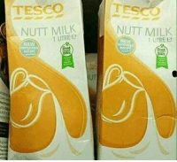 "Gif, Tumblr, and Media: TESCO  TESCO  NUTT MILK  NUTT MILK  1 LTRE  TIEWW  UT  ou  rd <figure data-orig-height=""181"" data-orig-width=""196""><img src=""https://78.media.tumblr.com/615934bbe3f045db02a8dc224f8a85ee/tumblr_inline_of38a3bCv51qhy6fn_500.gif"" data-orig-height=""181"" data-orig-width=""196""/></figure>"