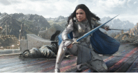 Tessa Thompson seemingly says Valkyrie is bisexual, making her the first openly LGBT character in the MCU! http://bit.ly/2ztF3DL  (Andrew Gifford): Tessa Thompson seemingly says Valkyrie is bisexual, making her the first openly LGBT character in the MCU! http://bit.ly/2ztF3DL  (Andrew Gifford)
