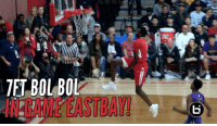 Dunk, Memes, and 🤖: TET BOLMBOL Bol Bol Under The Legs Dunk IN Game In Front 4000 Ppl! SCtop10