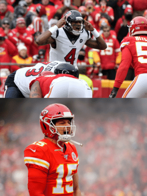 Texans: 24 straight points to open the game. Chiefs: 21 unanswered points in the last three minutes.  There's still six minutes left in the first half. #NFLPlayoffs  📺: #HOUvsKC on CBS 📱: NFL app // Yahoo Sports app Watch free on mobile: https://t.co/ytW9g3rQZM https://t.co/dO3wNEIvoI: Texans: 24 straight points to open the game. Chiefs: 21 unanswered points in the last three minutes.  There's still six minutes left in the first half. #NFLPlayoffs  📺: #HOUvsKC on CBS 📱: NFL app // Yahoo Sports app Watch free on mobile: https://t.co/ytW9g3rQZM https://t.co/dO3wNEIvoI