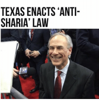 America, Feminism, and Friends: TEXAS ENACTS ANTI-  SHARIA' LAW God I want to live in Texas @guns_are_fun_💐 - Follow my backup - 🇺🇸 @americanalice 🇺🇸 ✨Tags your friends ✨ - - ❤️🇺🇸🙏🏻 politicians racist gop conservative republican liberal democrat libertarian Trump christian feminism atheism Sanders Clinton America patriot muslim bible religion quran lgbt government BLM abortion traditional capitalism makeamericagreatagain maga president